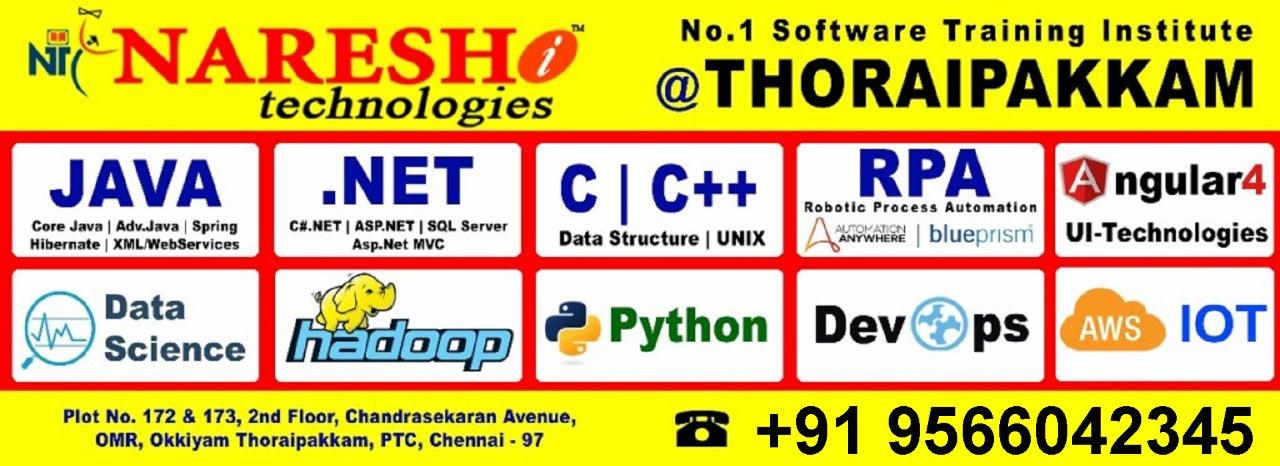 Best-Software-Training-Institute-in-Chennai-NareshITechnologies