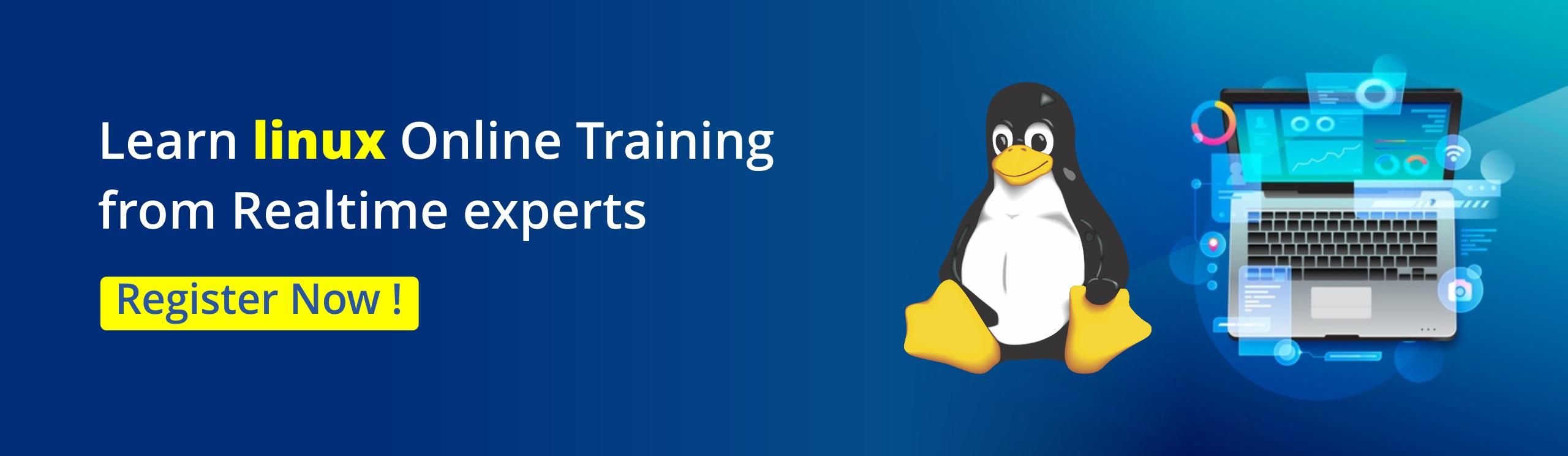 Linux Online Training - NareshIT