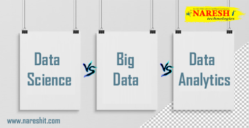 Data Science vs Big Data vs Data Analytics NareshIT